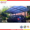 Transparent Polycarbonate Twin Wall Hollow Sheet Carport Canopy