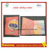 Color Print Sticky Notebook with OEM Design