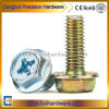 Phillips Flange Fastener Carbon Steel 4.8/8.8/10.9 Galvanized Hexagon Head Flange Screw