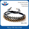 High Quality Classic Mens 316L Stainless Steel Handmade Beaded Bracelets