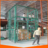 10m Guide Rail Chain Cargo Lift Platform