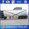 3 Axles 70ton 60m3 Cement Bulker Tanker Trailer in UAE