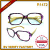 R1472 Plastic Reading Glasses with Bamboo Temple