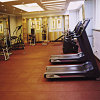 Cheap Indoor Rubber Interlocking / Tile Gym Flooring