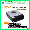 3kVA 2400W PWM Solar Controller Hybrid Inverter Pure Sine Wave Power Inverter