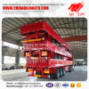 3 Axles 50 Tons Cargo Fence Semi Trailer with Detachable Wall