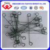 1mm 4 Inch Galvanized Black Annealed Double Loop Tie Wire