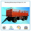 50t 3 Axles Cargo Transport Side Wall Full Trailer