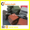 Pure Red, Green Rubber Flooring for Children Playground Safety Mats