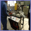 UPVC Profile Welding Machine Used for Making Windows