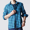 Wholesale Hight Quality Men′s Checkered Leisure Shirt