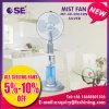 16 Inch Silver Stand Cooler Water Spray Mist Fan (MF-40-S001RN)