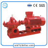 Large Flow Motor Split Case Fire Fighting Centrifugal Water Pump