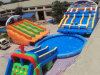 Funny Inflatable Slide with Pool for Children′s Paradise