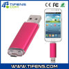 8GB Fashionable OTG USB Flash Drive for Smart Phones/Tablet PCS Rose Red