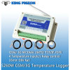 Wireless GSM SMS GPS GPRS 3G Temperature Data Logger with SMS Alarm
