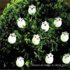 Solar Powered 10 LED Owl Lights for Garden Outdoor (RS1009)
