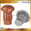 High Quality Round Head Copper Solid Rivets with Knurlling