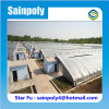 High Quality Plastic Covered Solar Greenhouse