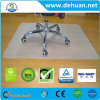 PVC Chair Mat for Plush Pile Carpets More Than 0.1 Inch Thick Clear 47 X 35 Inches Rectangular