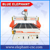 1300 * 2500 mm 4 Axis CNC Router Engraver Machine in Good Price with Rotary Device on The Vacuum Working Table