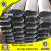 Black Anneal Oval Steel Pipe for Furniture