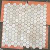 Crema Marfil Marble Hexagon Mosaic Tile