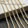 High Quality Pearl Rhinestone Cup Chain for Garment Decoration