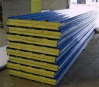 Colorful Sandwich Panel with Anti-Fire Rock Wool