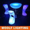 Cheap Plastic LED 3D Colors Commercial Bar Stools