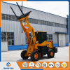 Hydraulic Pallet Fork 1500kg Wheel Loader with Big Wheels