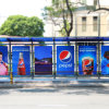 Customized Outdoor Bus Stop Shelter Design
