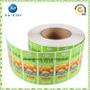 OEM Custom Sticker Printing Food Packing Sticker (jp-s224)