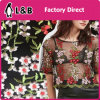 Polyester Textile Small Flower Lace Fabric