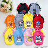 Cute Warm Dog Printing Cartoon Jumper Pet Coat Clothes