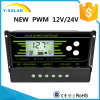 New-PWM 10AMP 12V/24V-Auto Back-Light Dual-USB Solar Controller Z10