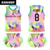 Ozeason Crew Neck 3D Sublimated Short Sleeve or Sleeveless Singlet Volleyball Jersey