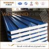 Wiskind Color Steel Rockwool/Glasswool/EPS Sandwich Wall Panel for Steel Structure