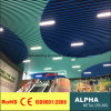 Aluminum Metal U Shaped Baffle Panel Ceiling