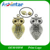Jewelry USB Pendrive Cartoon Metal Model Owl USB Flash Drive