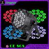 Cheap DMX DJ 18PCS RGBWA 5in1 Stage 15W LED PAR Light