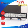 Auto CREE 72W 12inch LED Work Light Bar for Vehicles