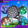 Small Flat Mini Stage RGB 18X1w LED PAR Light
