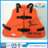 Marine Solas Foam Three Piece Work Life Jacket for Oil Platform