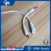 White and Black IP68 2~6pins Waterproof Connector Cabel for LED