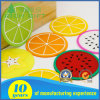 Customized Soft PVC Coaster in Fruit Design for Wholesale