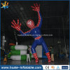 PVC Inflatable Spiderman Cartoon, Inflatable Model for Advertising