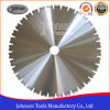 600mm Laser Welded Diamond Concrete Blade for Precast Concrete Cutting