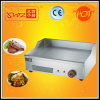 Commercial Electric Griddle with Round Burners