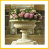 Marble Stone Hand Carved Garden Planter Pot